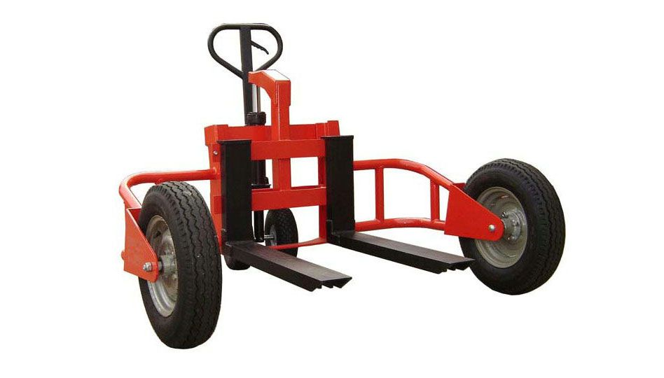 (001-007) Rough Terrain Pallet Jack
