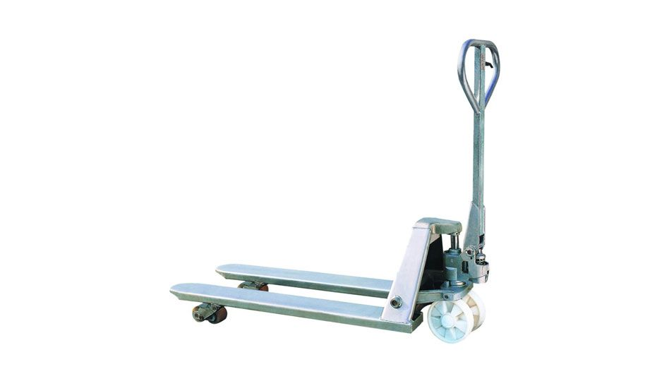 (001-006) Stainless Steel Pallet Jack