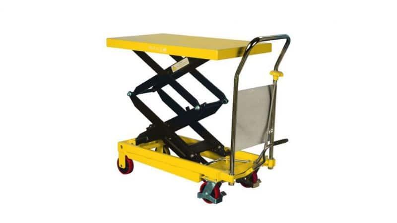 (003-001) Mobile Scissor Trolley