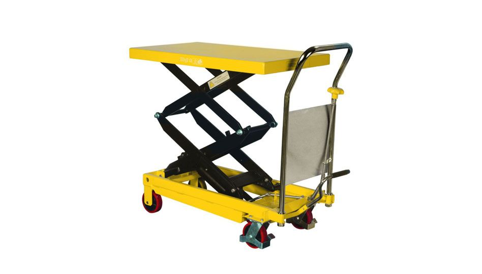 (003-001) Mobile Scissor Trolley