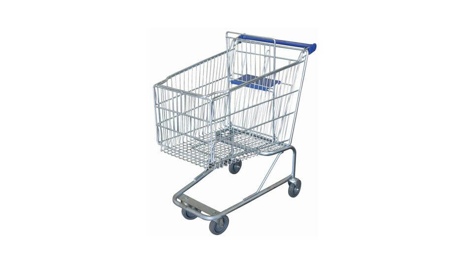 (004-012) SHOPPING TROLLEY