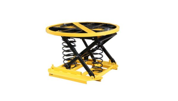 Spring Actuated Lift Table